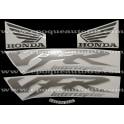 Autocollants - Stickers Honda VFR 800i année 1999 version vert