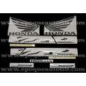 Autocollants - Stickers Honda VFR 800i année 2002 version rouge